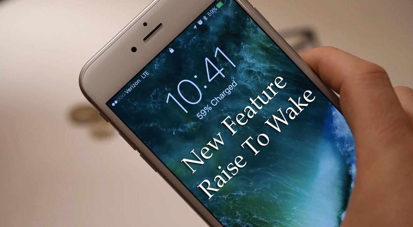 Apple iOS 10 Lock Screen