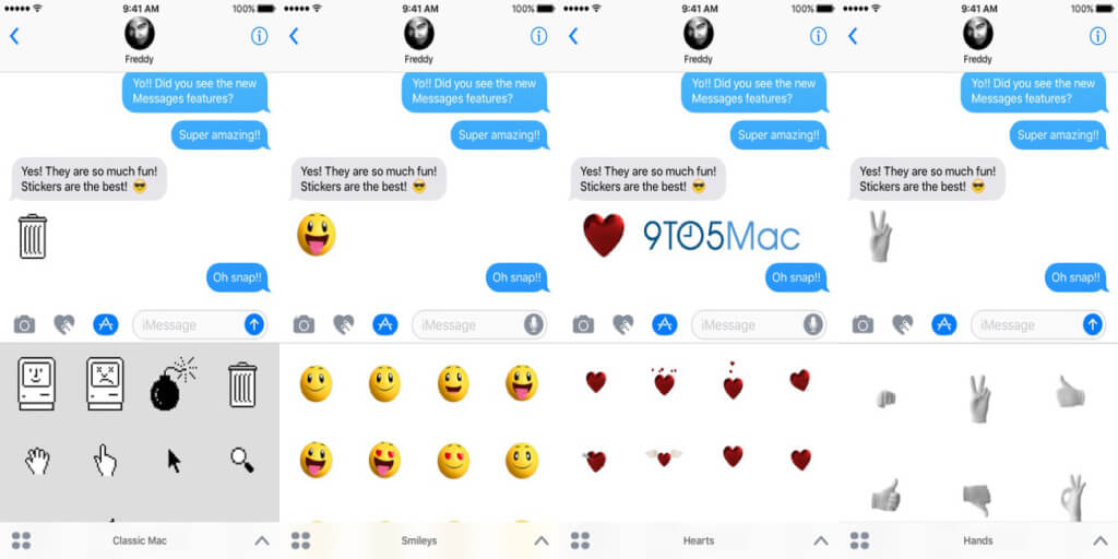 Apple iOS 10 Messaging