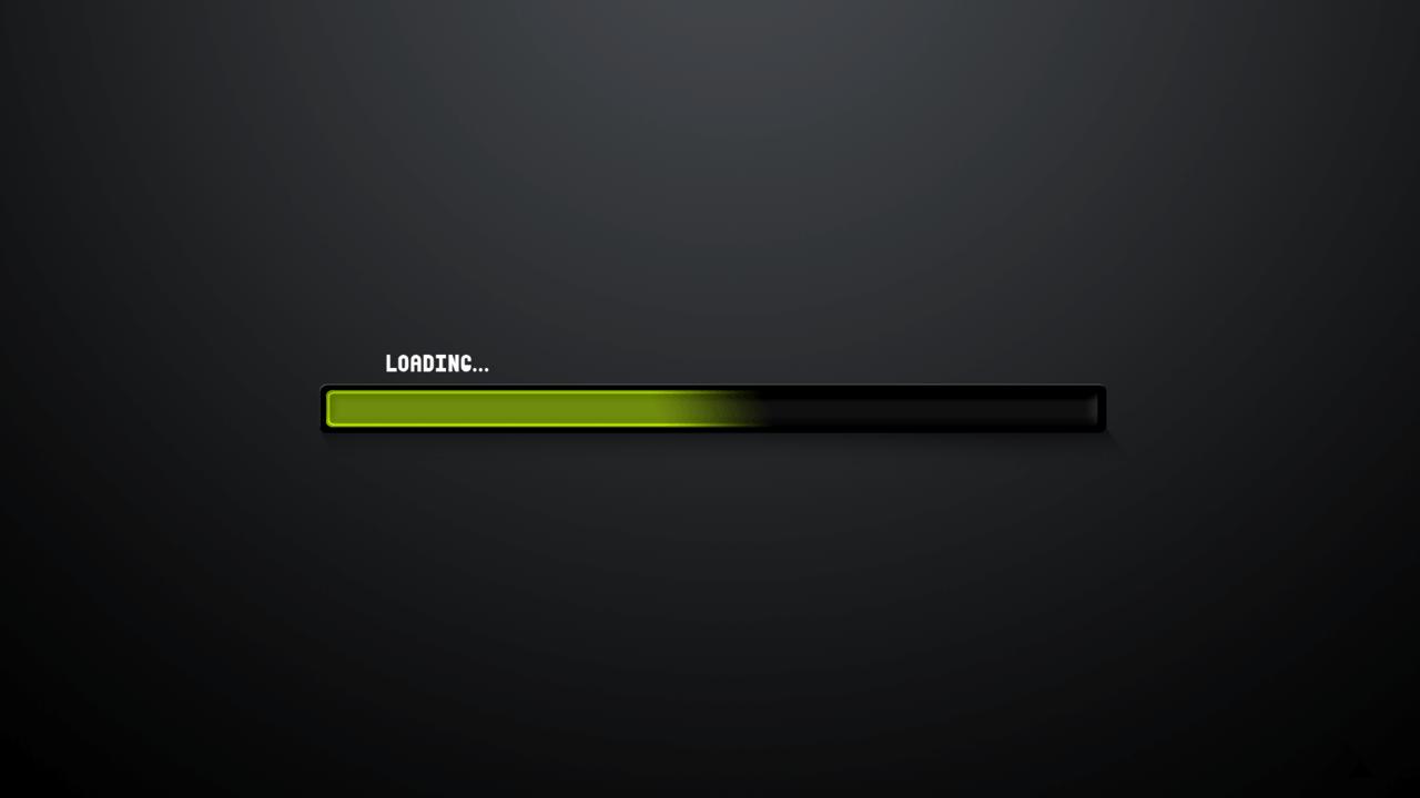 Page Loading Progress Animation