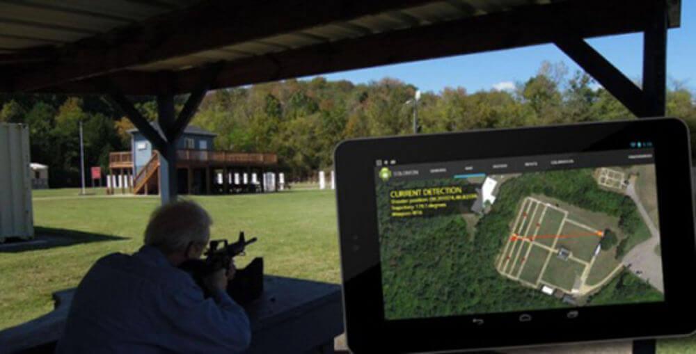 Determine Shooter Location App